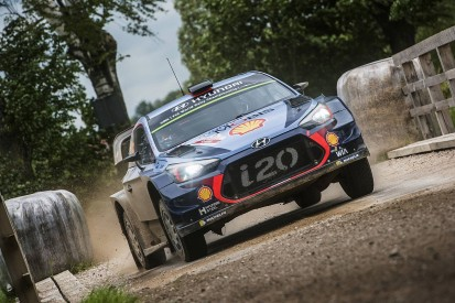 WRC Rally Poland: Neuville holds slender leads after Saturday drama