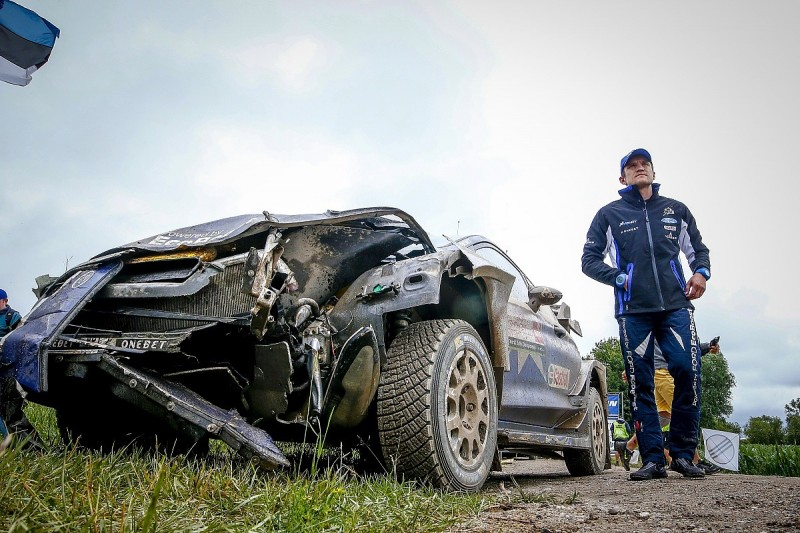 WRC Rally Poland: Neuville in comfortable lead after Tanak mistake