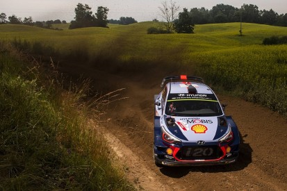 WRC Rally Poland: Neuville and Tanak swap lead, Ogier drops time