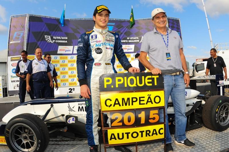 Carlin eyeing Pedro Piquet for 2016 European F3 Championship