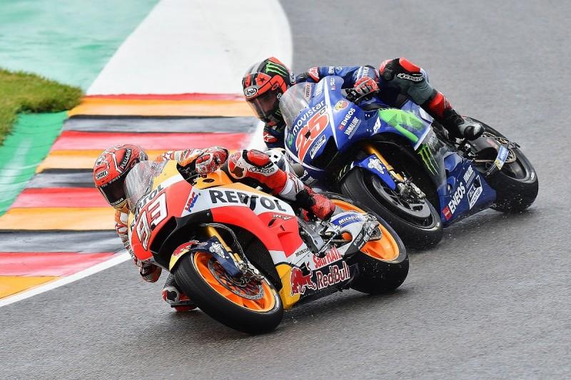 Sachsenring MotoGP: Marquez apologises to Vinales after clash