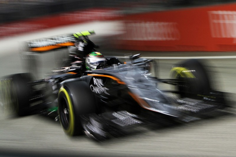 Force India set to confirm Sergio Perez's new F1 deal by Mexican GP