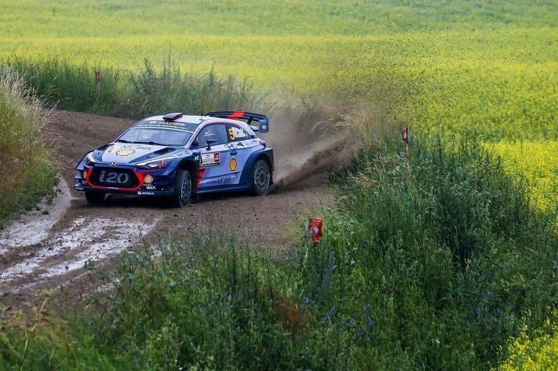 WRC Rally Poland: Thierry Neuville takes narrow lead over Ott Tanak