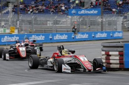 Norisring European F3: Gunther wins after Norris and Hughes collide