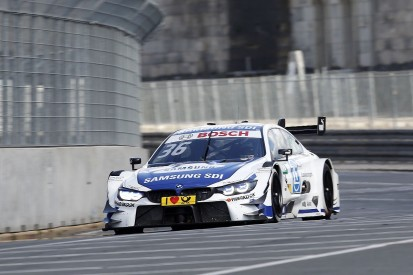 Norisring DTM: BMW's Martin snatches pole from Audi driver Rast