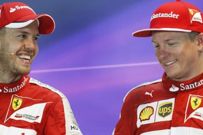 Ferrari F1 boss Arrivabene won't compare Vettel and Raikkonen