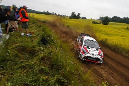 Rally Poland WRC: Jari-Matti Latvala leads four-way lead battle