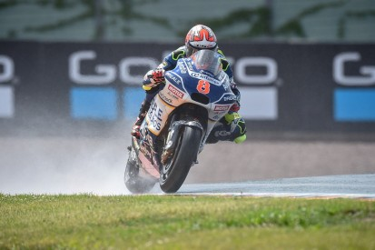 Hector Barbera fastest in wet MotoGP Sachsenring FP2 with late lap