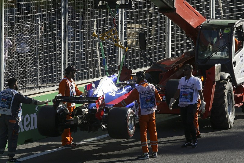 Toro Rosso car failures not allowing Kvyat to show F1 potential