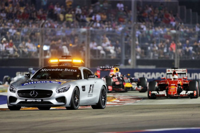 Singapore GP: Safety car periods 'dictated the race' - Ricciardo