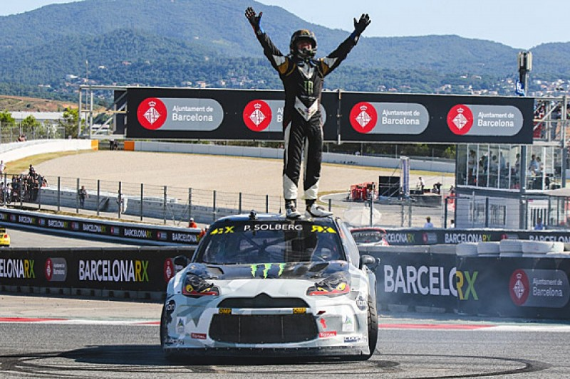 Barcelona World RX: Petter Solberg takes victory