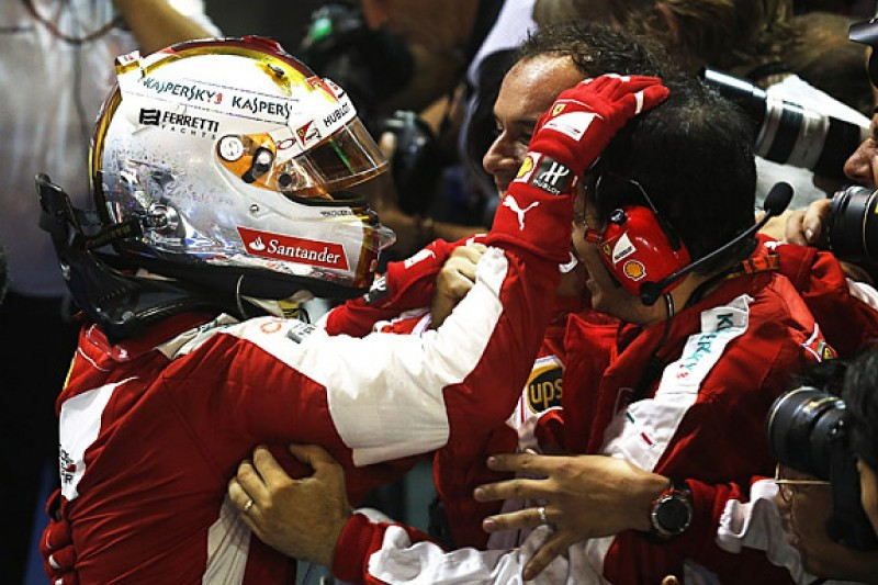 Ferrari F1 team to apologise for parc ferme fracas in Singapore GP