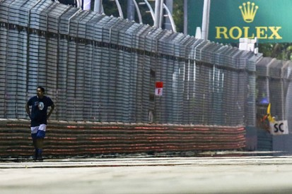 Singapore GP track invader arrested by police