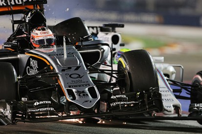 Nico Hulkenberg questions F1 stewards for Singapore GP penalty