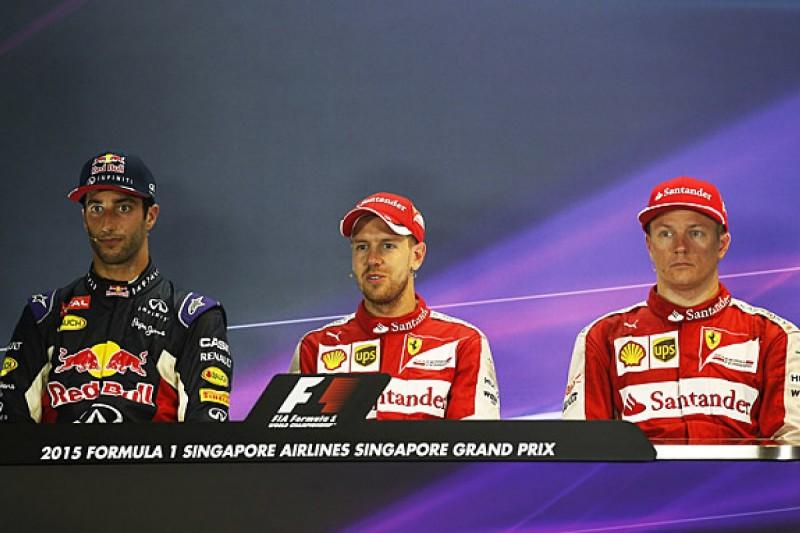 Singapore Grand Prix Sunday FIA press conference transcript