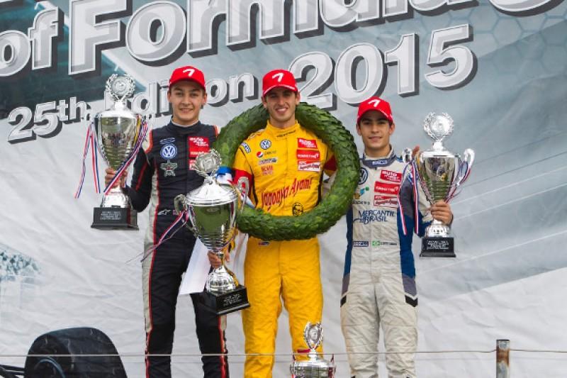 Zandvoort Masters of F3: Antonio Giovinazzi wins in a Carlin 1-2