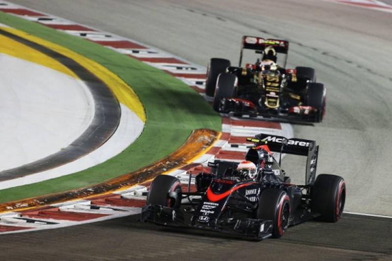 Singapore GP: Button labels Maldonado's driving 'very strange'