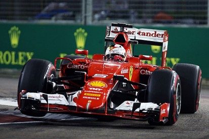 Singapore GP: Sebastian Vettel leads Ferrari one-two in FP3