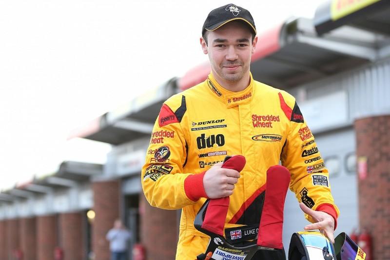 Injured BTCC racer Luke Davenport gives update on recovery