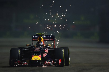 Singapore GP: Daniil Kvyat leads Kimi Raikkonen in F1 practice