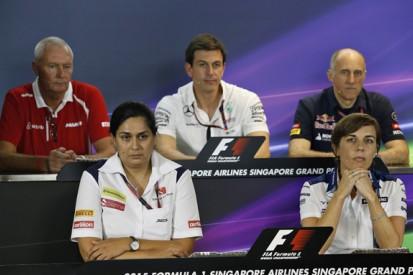 Singapore Grand Prix Friday FIA press conference
