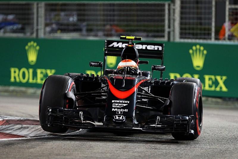 Singapore F1 GP: Jenson Button expected better from McLaren-Honda