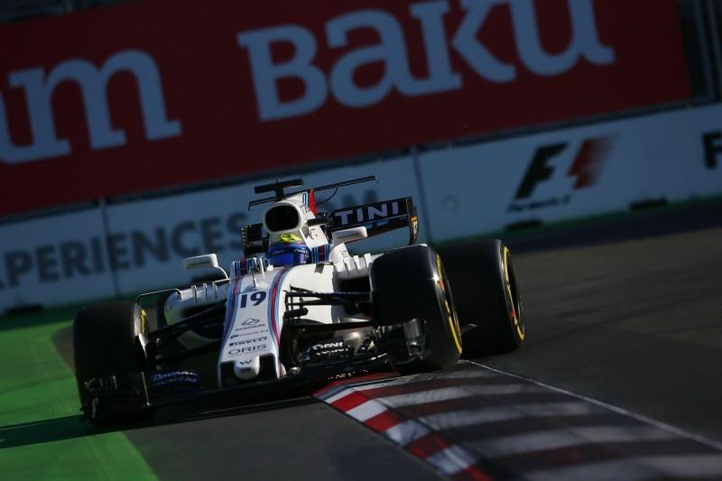 Suspension on Felipe Massa's Williams 'locked solid' in Baku