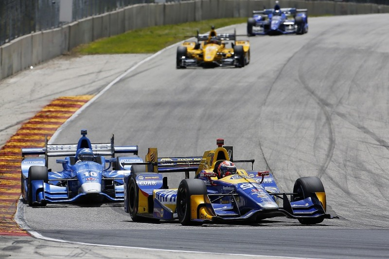 Rossi rejects claims he caused Kanaan's IndyCar Road America crash