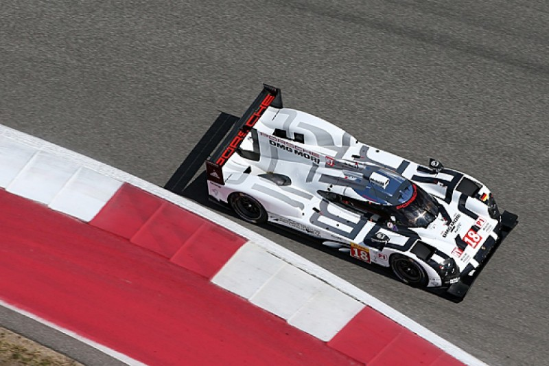 Austin WEC: Porsche leads first practice with Dumas and Webber