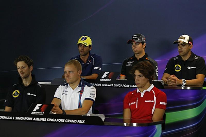 Singapore Grand Prix Thursday FIA press conference