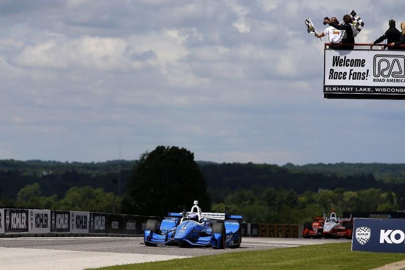 Road America IndyCar: Scott Dixon upstages Penske for Ganassi win