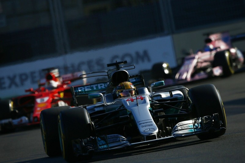Hamilton says F1 rival Vettel 'disgraced himself' in Azerbaijan GP