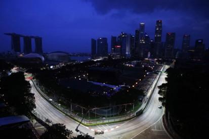 Formula 1's Singapore GP fine, but smog warning issued