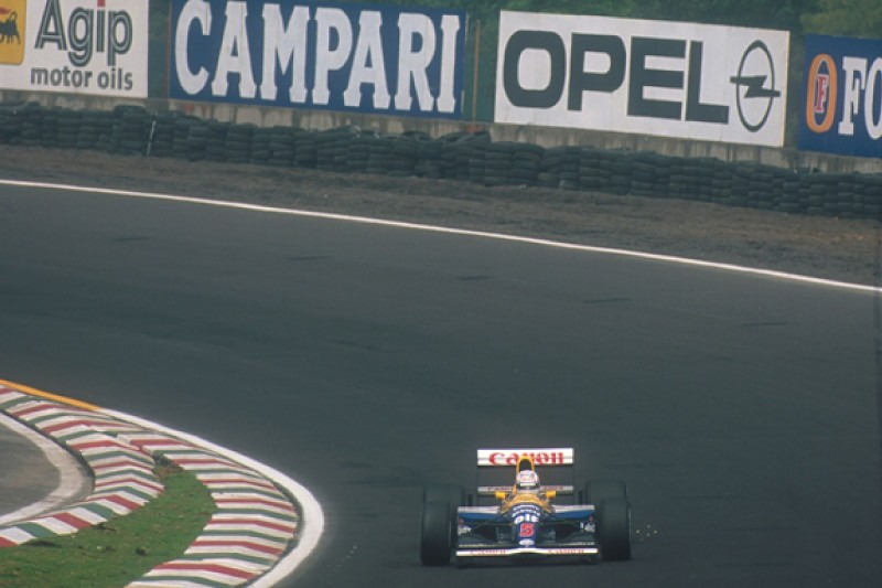 Mexican GP corner named after F1 world champion Nigel Mansell