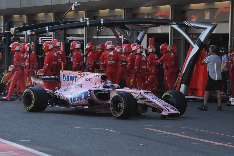 Sergio Perez blames Esteban Ocon for Force India clash in Baku