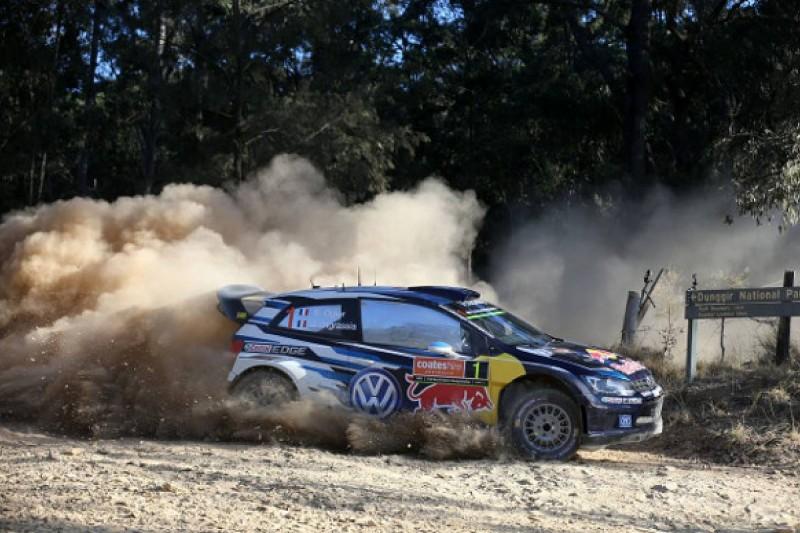 Sebastien Ogier says he's 'getting stronger' after third WRC title