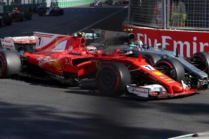 Ferrari's Kimi Raikkonen hits out at Valtteri Bottas after Baku hit