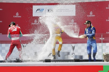 Baku F2: Arden's Norman Nato wins thriller ahead of Charles Leclerc