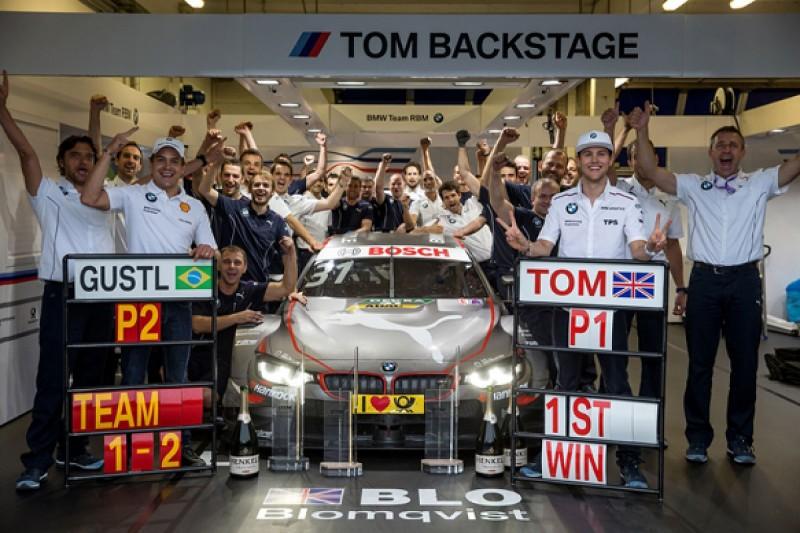 First DTM win felt like Formula 3 says BMW rookie Tom Blomqvist