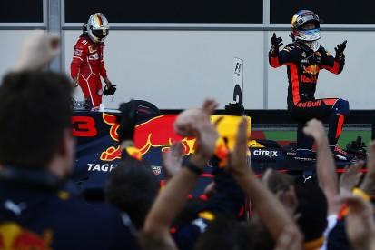 Ricciardo wins crazy Azerbaijan GP, Vettel and Hamilton clash