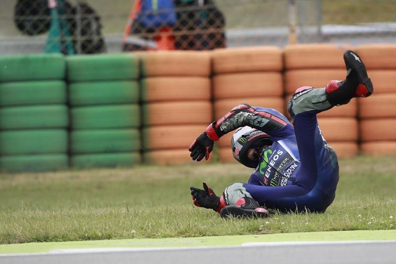 Strange crash cost Vinales the championship lead at Assen