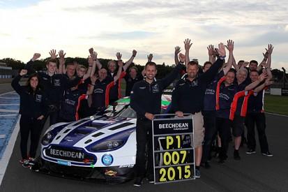 Andrew Howard and Jonny Adam claim British GT title in Aston Martin