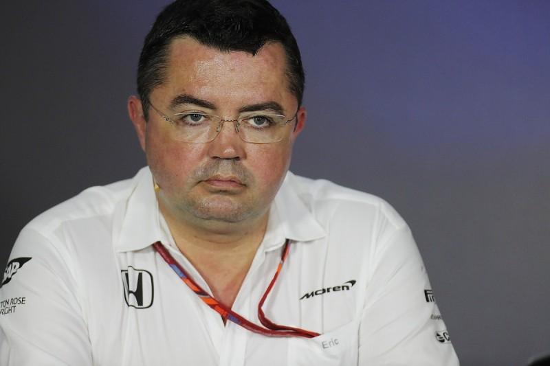 Baku 'most painful weekend' in motorsport - McLaren's Eric Boullier