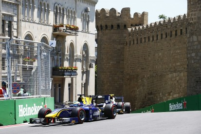 Baku F2: DAMS driver Oliver Rowland criticises feature race penalty