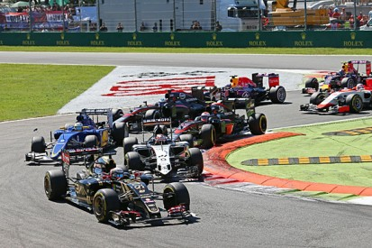 Lotus F1 team wants first-lap caution from Grosjean and Maldonado