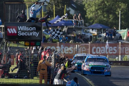 Sandown V8 Supercars: Winterbottom and Owen lead Prodrive Ford 1-2