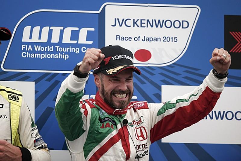 Motegi WTCC: Monteiro wins for Honda, Lopez and Muller both retire