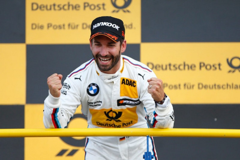 Oschersleben DTM: Ex-F1 racer Timo Glock wins in BMW podium lockout