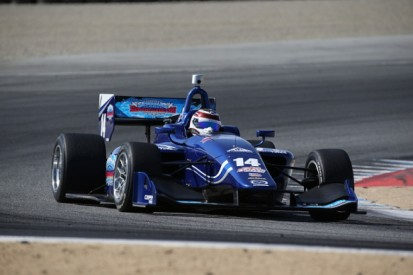 Laguna Seca Indy Lights: Max Chilton claims pole for opening race