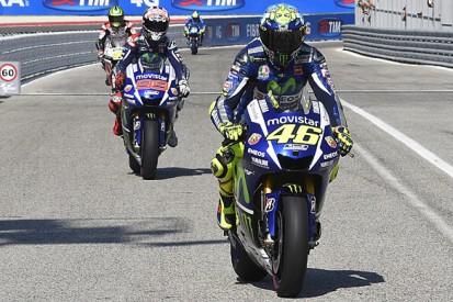 Misano MotoGP: Rossi gets penalty point for Lorenzo incident